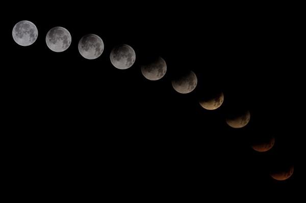 Solat Gerhana Bulan
