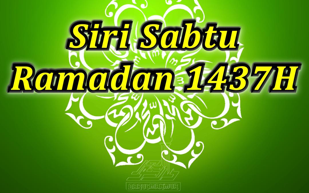 Siri Sabtu Ramadan