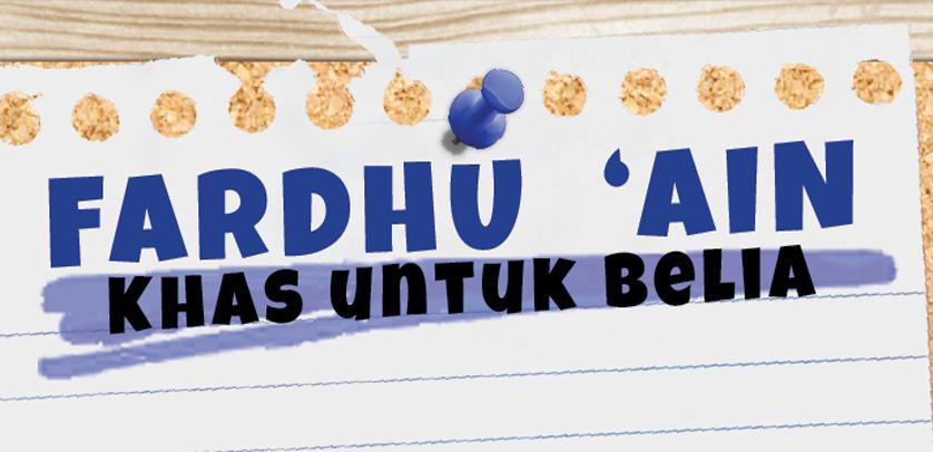 Fardhu 'Ain Khas Belia