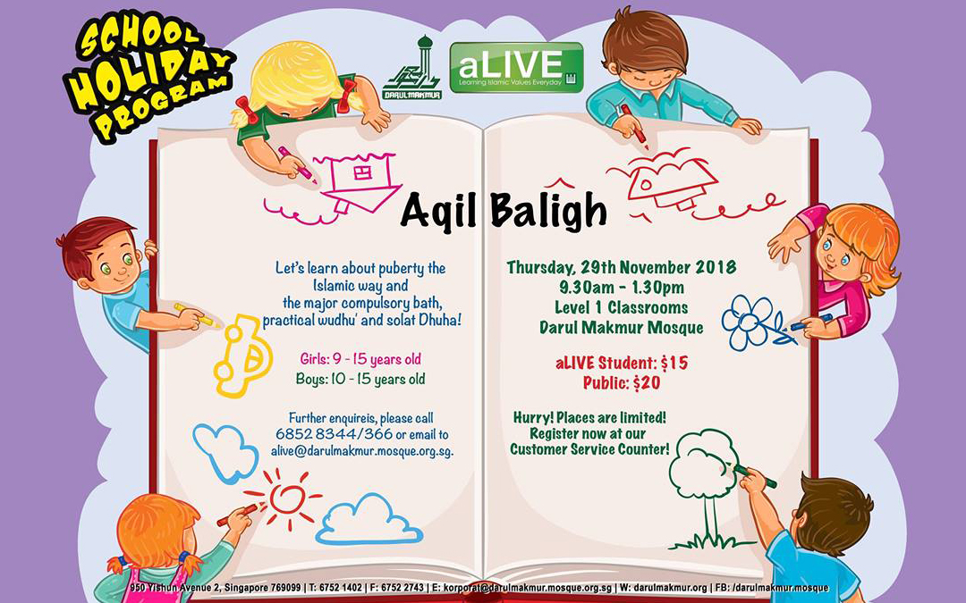 School Holiday Program: Aqil Baligh