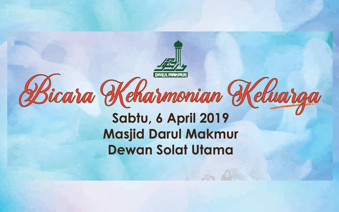 Bicara Keharmonian Keluarga (6HB April 2019)