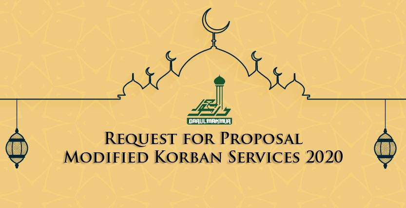 RFP Modified Korban Services 2020