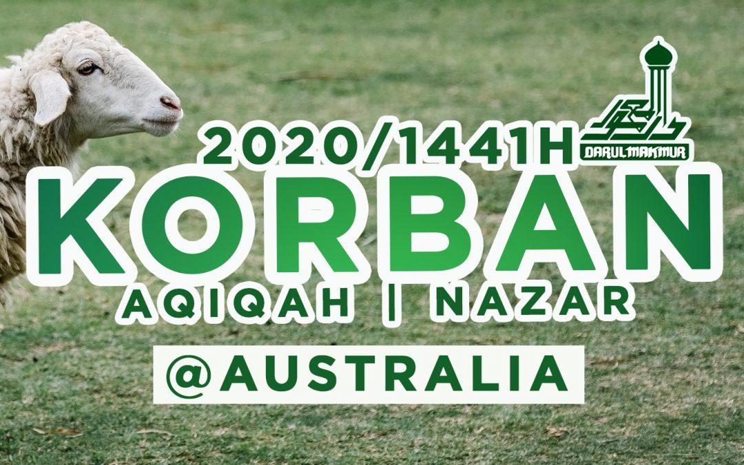 Korban 2020 @ Australia